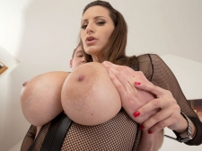 A Ball batter Injection For A 34DDD Brunette
