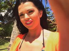 Sha Rizel Takes Us For An Island Stroll With Her Smartphone